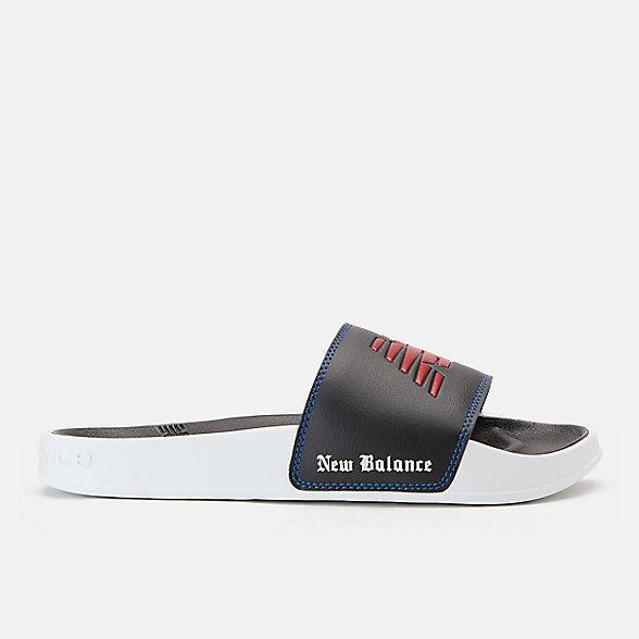 New Balance 200系列 4 Bounces配色男款休闲拖鞋, SMF200LA