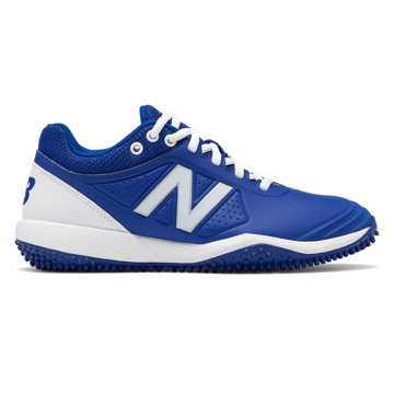 New Balance Fusev2 Turf, Royal Blue with White