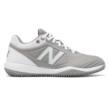 New Balance Fusev2 Turf, Grey with White