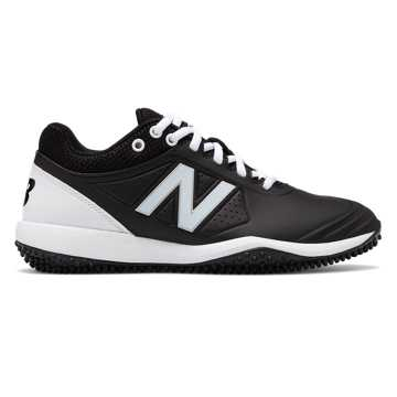 New Balance Fusev2 Turf, Black with White