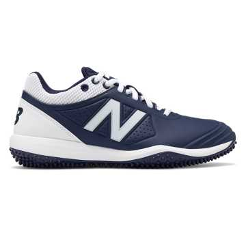 New Balance Fusev2 Turf, Navy with White