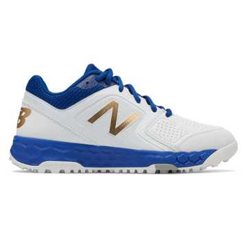 New Balance Fresh Foam Turf Velo1, Royal Blue with White