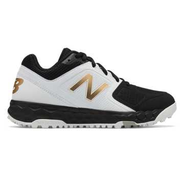 New Balance Fresh Foam Turf Velo1, Black with White