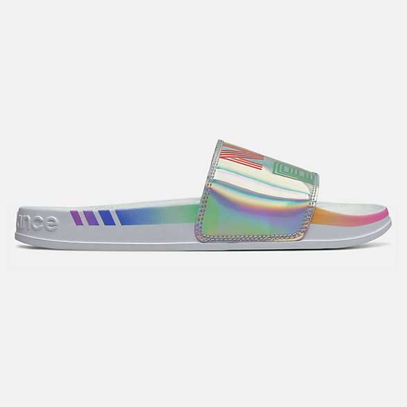 New Balance Pride Slide 200系列女款凉鞋拖鞋, SWF200C1