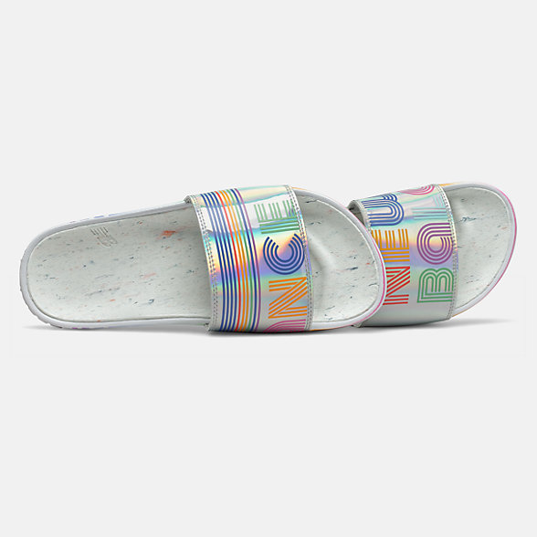 New Balance 200 Pride Slide, SWF200C1, Multi Color