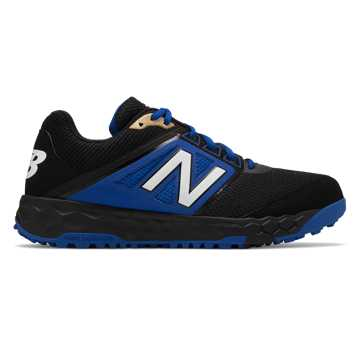 New Balance Fresh Foam 3000v4 Turf, Black with Blue
