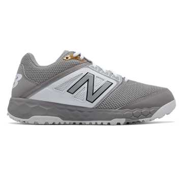 New Balance Fresh Foam 3000v4 Turf, Grey with White