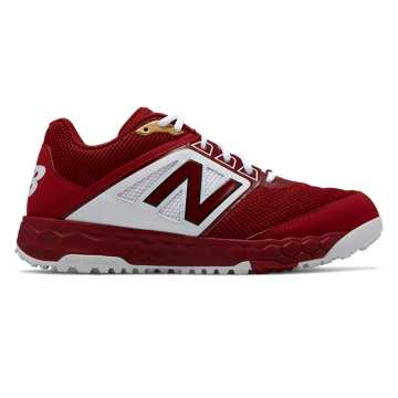 New Balance Fresh Foam 3000v4 Turf, Crimson with White
