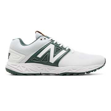 New Balance Turf 3000v3, White with Green