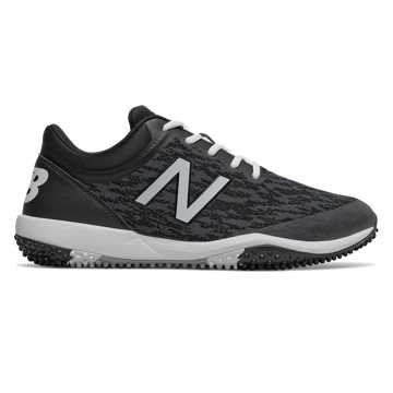New Balance 4040v5 Turf, Black with White