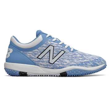 New Balance 4040v5 Turf, Baby Blue with White
