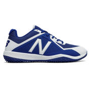 New Balance 4040v4 Pelouse, Bleu royal et blanc