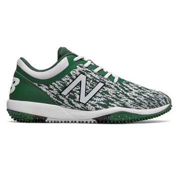 New Balance 4040v5 Turf, Green with White