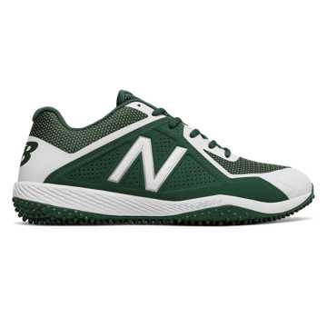 New Balance 4040v4 Turf, Team Dark Green with White