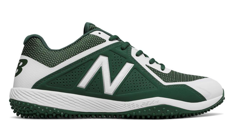 premium selection New Balance 4040v4 Turf Men Baseball Shoes Green White