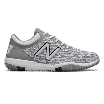 New Balance 4040v5 Turf, Grey with White