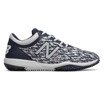 New Balance 4040v5 Turf, Navy with White