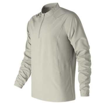 New Balance Long Sleeve Ace Baseball Jacket, Athletic Grey