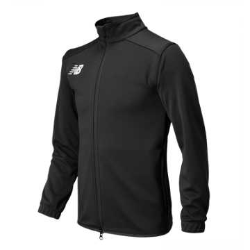 New Balance NB Knit Training Jacket, Black
