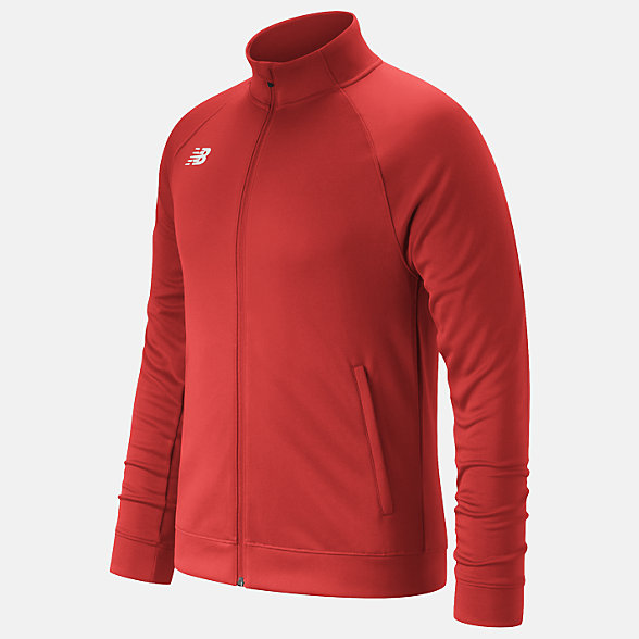 New Balance Knit Training Jacket, TMMJ720TRE