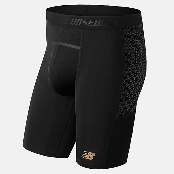 New Balance Short de glisse à compression 4040, TMMS650BK