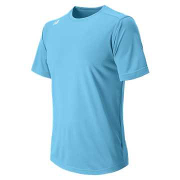 New Balance Short Sleeve Tech Tee, Columbia Blue