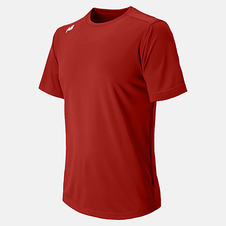 New Balance Short Sleeve Tech Tee, TMMT500SDR image number null