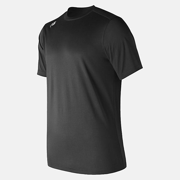 New Balance Short Sleeve Tech Tee, TMMT500TBK