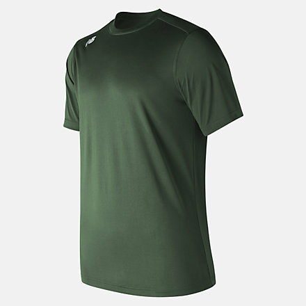 New Balance Short Sleeve Tech Tee, TMMT500TDG image number null