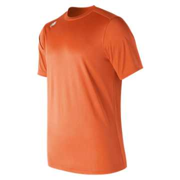 New Balance Short Sleeve Tech Tee, Team Orange