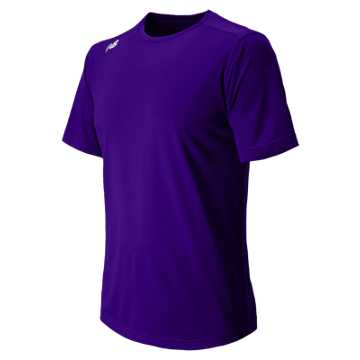 New Balance Short Sleeve Tech Tee, Team Purple