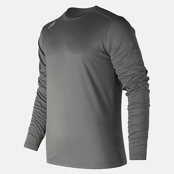 New Balance LS Tech Baseball Tee, TMMT501DH