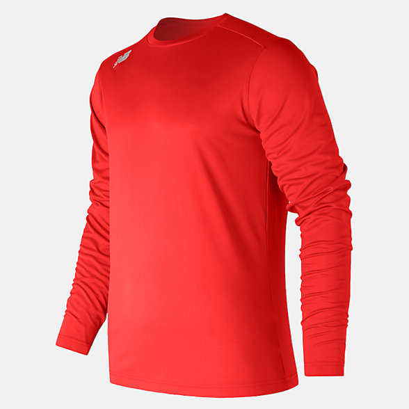 New Balance LS Tech Baseball Tee, TMMT501TRE