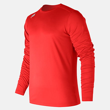 New Balance LS Tech Baseball Tee, TMMT501TRE image number null