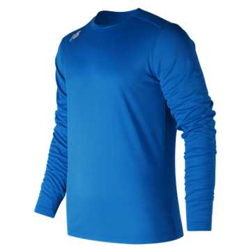 New Balance LS Tech Baseball Tee, Team Royal