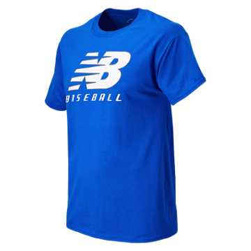 New Balance Baseball Lockup Tee, Team Royal