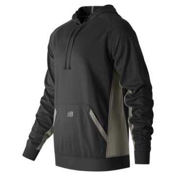 New Balance Baseball Tech Hoodie, Team Black