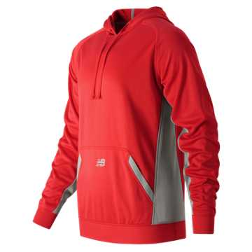 New Balance Baseball Tech Hoodie, Team Red