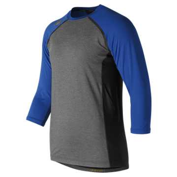 New Balance 3/4 Sleeve 4040 Compression Top, Team Royal