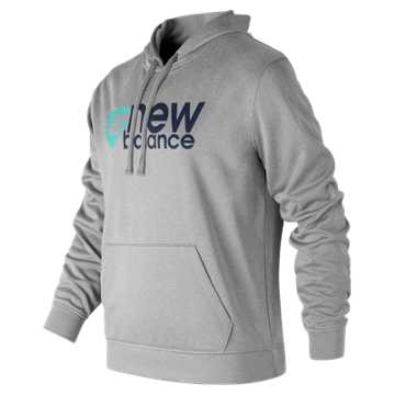 New Balance NB Stack Plate Hoodie, Athletic Grey