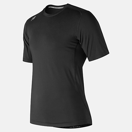 New Balance NB SS Compression Top, TMMT707TBK image number null
