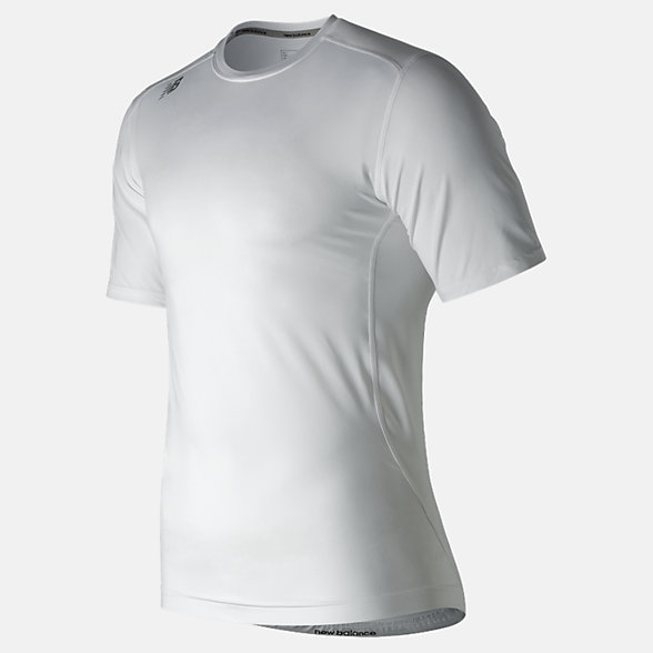 New Balance NB SS Compression Top, TMMT707WT