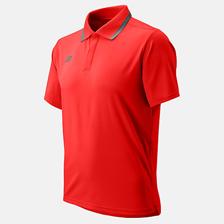 New Balance Team Rally Polo, TMMT715TRE image number null