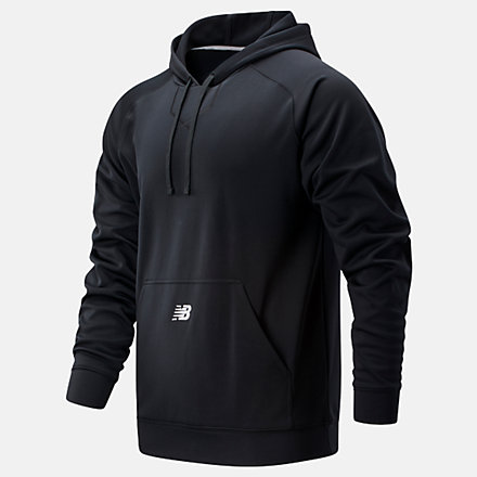 New Balance Perf Tech Hoody, TMMT719TBK image number null