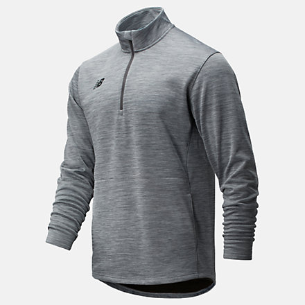 New Balance Thermal Half Zip, TMMT725MHG image number null
