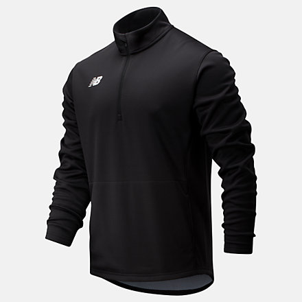 New Balance Thermal Half Zip, TMMT725TBK image number null