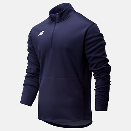 New Balance Thermal Half Zip, TMMT725TNV image number null