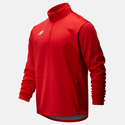 New Balance Thermal Half Zip, TMMT725TRE image number null
