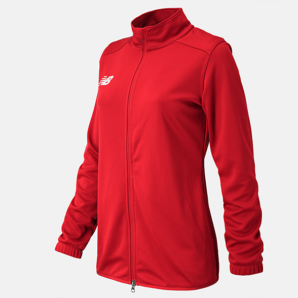New Balance NB Knit Training Jacket, TMWJ599RD