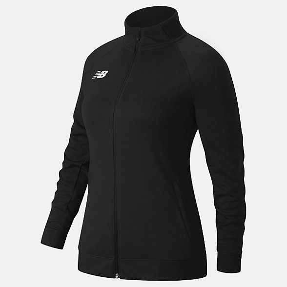 New Balance Knit Training Jacket, TMWJ720TBK
